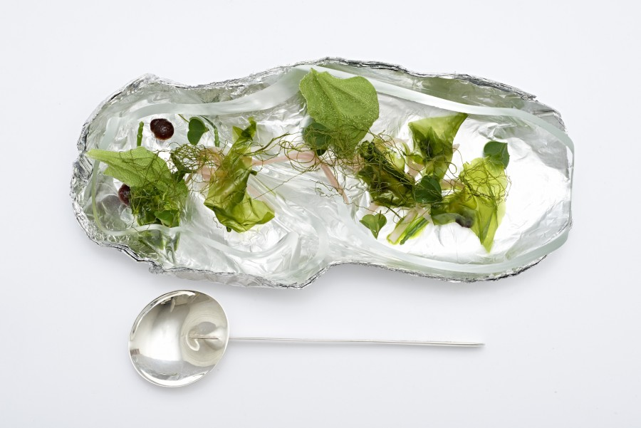 Spiral plates for 5th anniversary of Steinbeisser's Experimental Gastronomy